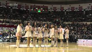 getlinkyoutube.com-SNSD 少女時代 ♥ Kissing you + Girls' Generation Live HD