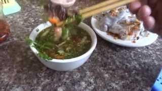 ปากหม้อญวนไลเจา Lai Chau street food