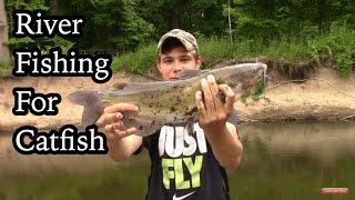 getlinkyoutube.com-River Fishing For Catfish and Other BIG FISH?!?!