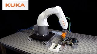 Fast Robotic Assembly of CPU and Memory Modules on a Circuit Board