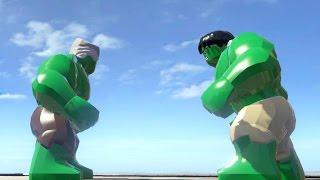 getlinkyoutube.com-STAN LEE VS HULK (BATTLE) - LEGO Marvel Super heroes
