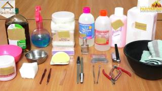 Tools used in Manicure & Pedicure (Hindi) (हिन्दी)