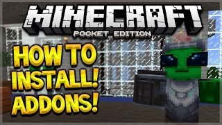 getlinkyoutube.com-MCPE ADDONS TUTORIAL!! Minecraft Pocket Edition 0.16.0 - How To Install Addons Maps Guide