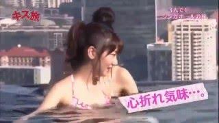 getlinkyoutube.com-AKB48 柏木 胸チラ 水着グラビア 放送事故 SKE48 NMB48 乃木坂46