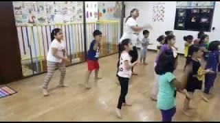 Kids Dance Learning Videos | Madam ji Go Easy | Dance Steps for Kids