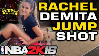 getlinkyoutube.com-NBA2K16 - Rachel Demita Jump shot Challenge