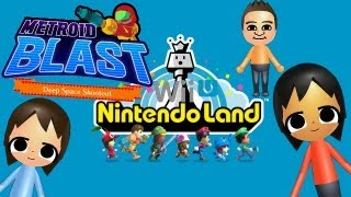 getlinkyoutube.com-NintendoLand: Metroid Blast Gameplay HD!!