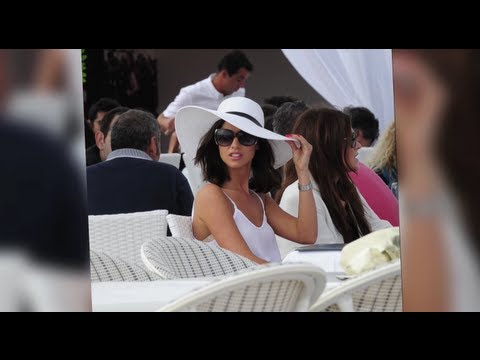 TOWIE's Lucy Mecklenburgh Dresses to Impress For Cannes Lunch
