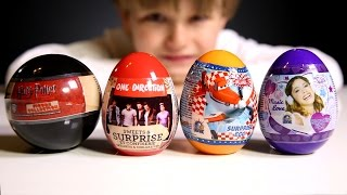 getlinkyoutube.com-Harry Potter Egg One Direction Disney Planes Disney Violetta