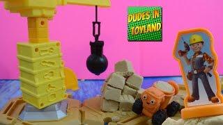 getlinkyoutube.com-Bob the Builder Mash & Mold Construction Site toy videos for children