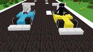 getlinkyoutube.com-Monster School: Drag Race - Minecraft Animation