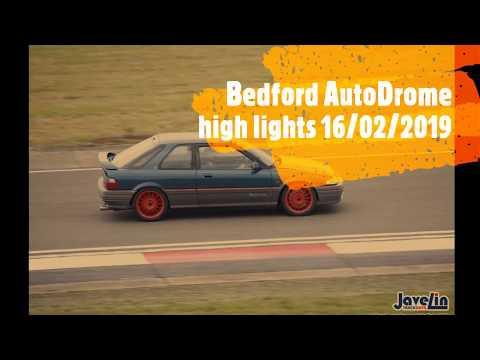 Bedford Autodrome trackday 16/02/2019