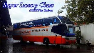 getlinkyoutube.com-SUPER MEWAH - Armada dan Kelas Baru PO. Harapan Jaya | Avante - Super Luxury Class