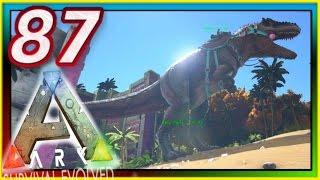 ARK: Survival Evolved - GIGANOTOSAUR TAMING / SHIELD COMBAT - S2E87 ( Modded Gameplay ) NEW UPDATE!