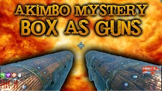 getlinkyoutube.com-SHOOT DOGS out of a GUN (Black Ops Zombie MODS + Download LINK) Akimbo Mystery Boxes