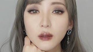 getlinkyoutube.com-초코립 메이크업 / Choco lip makeup