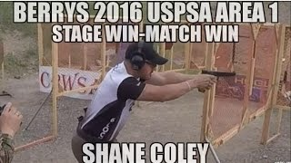 getlinkyoutube.com-2016 USPSA Area 1 Shane Coley Stage - Match Win Practical Pistol Shooting Competition Mark Brown