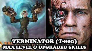 getlinkyoutube.com-Skylanders Imaginators - Terminator (T-800) GAMEPLAY - MAX LEVEL & UPGRADED SKILLS