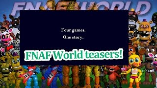 getlinkyoutube.com-Why would tiny toy chica be missing her beak? FNAF world teasers!