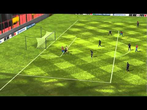 FIFA 14 iPhone/iPad - Welcome Guff vs. Inter