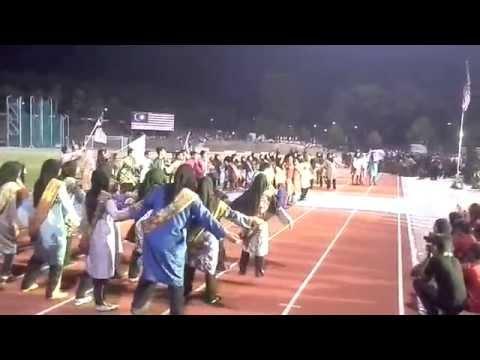 Perbarisan Sempena Sambutan Hari Malaysia Peringkat UKM 2014 (Kolej Burhanuddin Helmi)