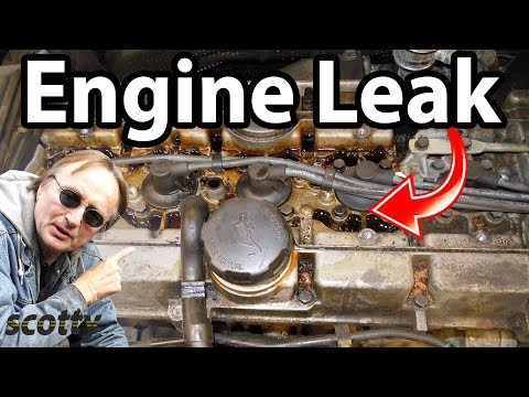 Fixing A Common Engine Oil Leak
