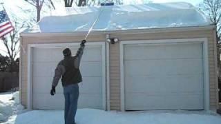 getlinkyoutube.com-Snow Cutter vs Roof Rake a head to head comparison