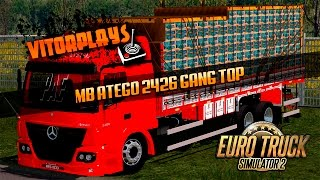 getlinkyoutube.com-MB ATEGO 2426 GANG MUITO TOP - EURO TRUCK SIMULATOR 2