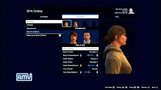 getlinkyoutube.com-GTA5 Online オンラインを早速プレイ Part,1 - キャラクター(アバター)作成! 【実況プレイ】  GTAV
