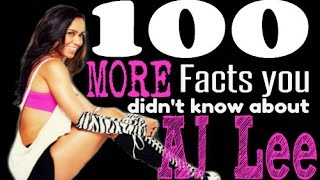 getlinkyoutube.com-100 MORE Facts You Didn't Know About AJ Lee