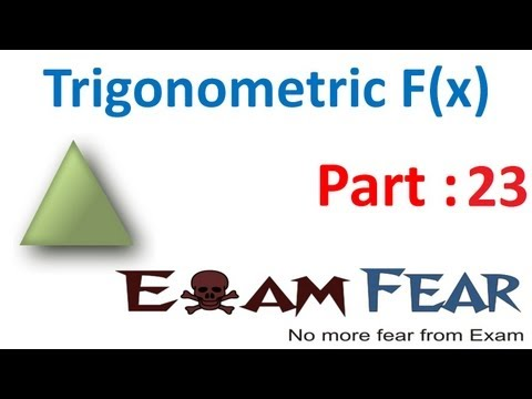Maths Trigonometry part 23 (Problems) CBSE class 11 Mathematics XI