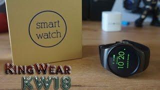 getlinkyoutube.com-KingWear KW18, un smartwatch parecido al Gear S2 con SIM [Review]