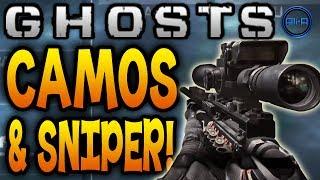 getlinkyoutube.com-Call of Duty: GHOSTS - Multiplayer Camos, USR Sniper & Combat Training! - (COD Ghost New)
