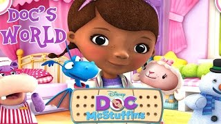 getlinkyoutube.com-💫 Doc McStuffins Come and Explore Doc's World Disney Junior Video Game for Children