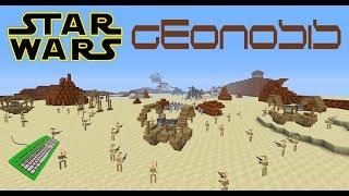 getlinkyoutube.com-Star Wars Minecraft (fake Trailer) (map: Geonosis)