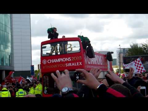 Manchester United Title Parade 2013