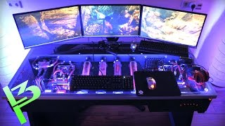 Epic Liquid Cooled PC In a Desk?