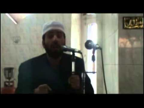 khateeb showkat shaheen shab at jamia masjid ibrahim ajas on 26 2 2012