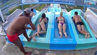 getlinkyoutube.com-Big R4LLY Water Slide at Wet'n Wild