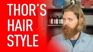 getlinkyoutube.com-Chris Hemsworth / Thor Hairstyle - Men's Long Hair | Eric Bandholz