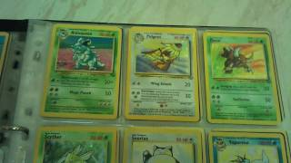 genuine near-complete pokemon card collection (base set-gyms)