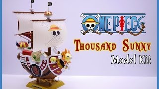 getlinkyoutube.com-One Piece Thousand Sunny Ship Model