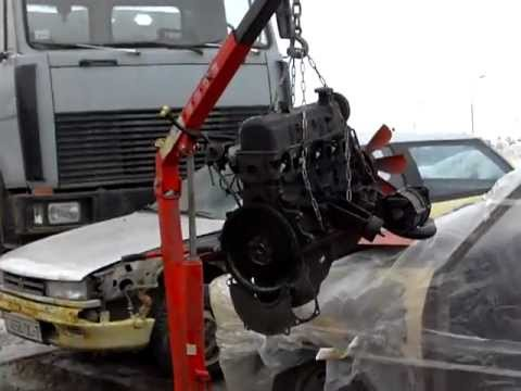Мотор снят