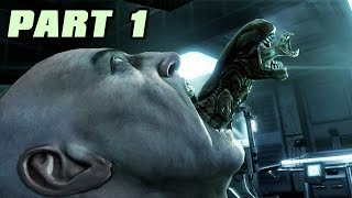 getlinkyoutube.com-Let's Play Alien Vs Predator 3 Deutsch #01 Alien Story - Nummer 6 lebt