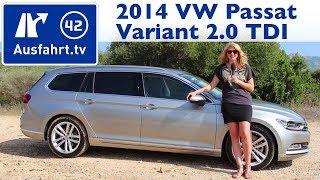 getlinkyoutube.com-2014 VW Passat Variant TDI - Fahrbericht der Probefahrt / Test / Review (German)
