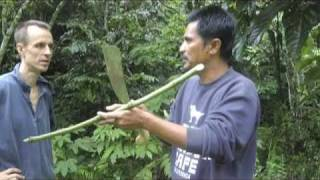 getlinkyoutube.com-Ray Mears style parang - machete review