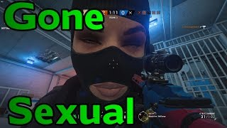 SIEGE GONE WRONG ( SEXUAL ) - Behind the Scenes of Rainbow Six Siege w/ Serenity17 & Bedasaja