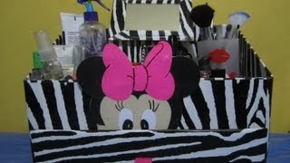 getlinkyoutube.com-organizador para cosmeticos en animal print.wmv