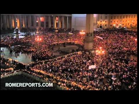 Benedict XVI's night speech on Second Vatican Council