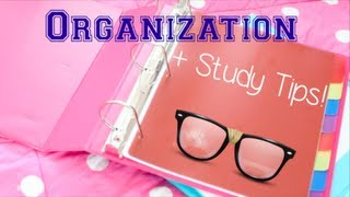 getlinkyoutube.com-Organization + Study Tips for High School!